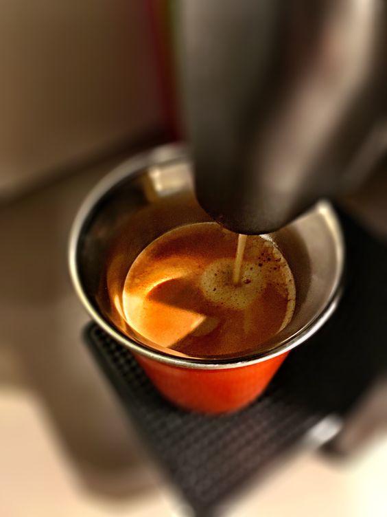 Guten Morgen…allen die Freitag haben wünsche ich mit einem #Arpeggio #Kaffe von @Nespresso ein schönes Weekend