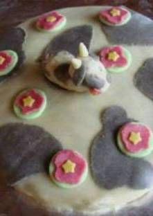 Gâteau en forme de vache
