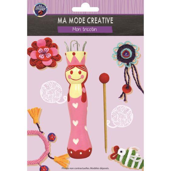Mon tricotin en bois - De fil en image - Sperenza Accessoires Tricot et Tricotins, boutique de laines et articles de mercerie