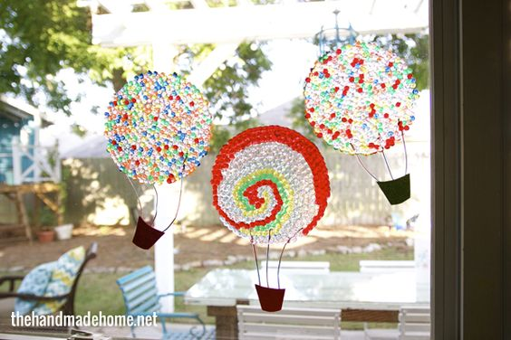 hot air balloon light catchers