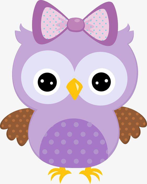 Cartoon Clipart Owl Clipart Bow Clipart Owl Purple Animal Hand Painted Bow Hand Painted Purple Painted Clipart Purple P Owl Clip Art Owl Cartoon Owl Printables