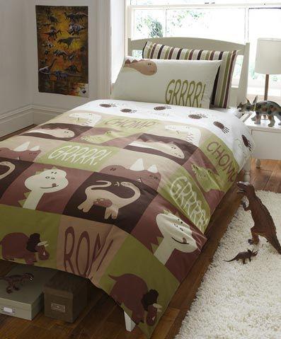 Curtains Ideas boys dinosaur curtains : Dinosaurs, Duvet and Jurassic park on Pinterest