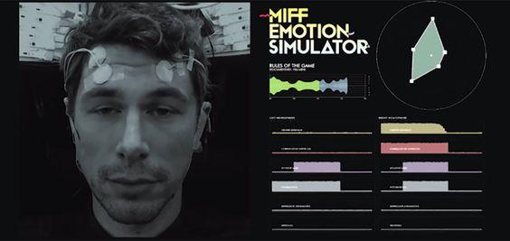 Un simulateur d'émotions qui vous fait reproduire les expressions des acteurs de cinéma