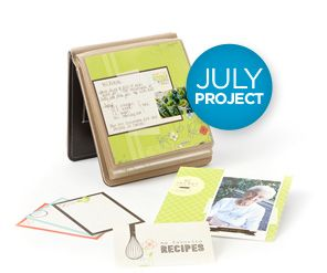 Host a summer project party where everyone gets together to create their own family recipe album. Everyone walks away with something great, and you get wonderful free products!  http://www.creativememories.com