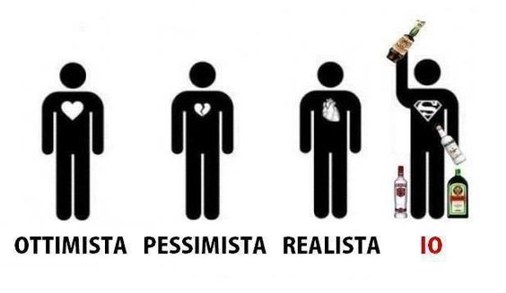 optimista- pesimista- reaista- yo