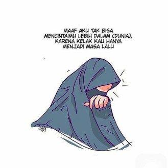 100 Gambar Foto Kartun Muslimah Terbaru 2018 Dengan Gambar