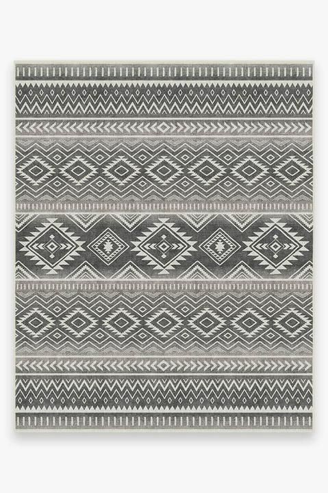 Quent 8 X 10 Rug Blue Gray Yellow Medium Rugs Large Rugs