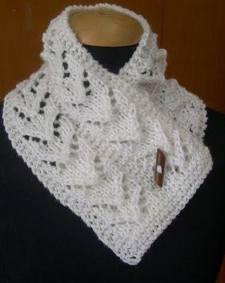 bufandas tejidas en crochet patrones , Buscar con Google