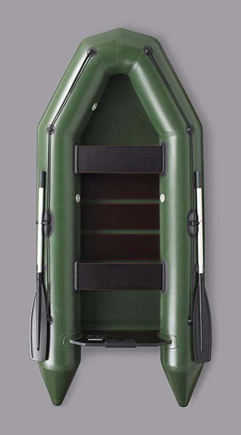 ideal geeignet als Angelboot Bengar Schlauchboot Ruderboot Set L-280 U grau Lotus 280 U