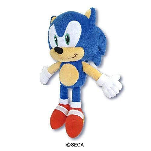Sonic The Hedgehog Plush S Collector Plush Sk Japan 10 6 X 4 5 X