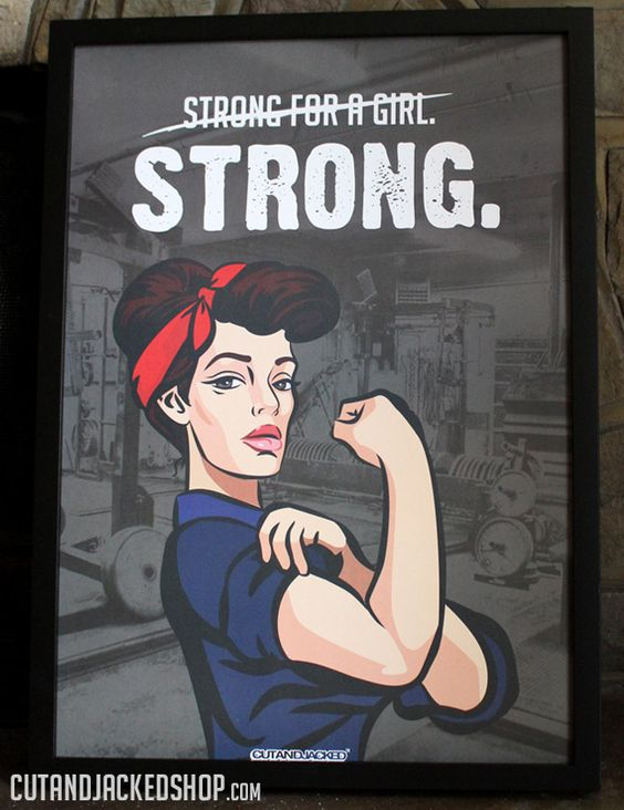 Strong For A Girl poster