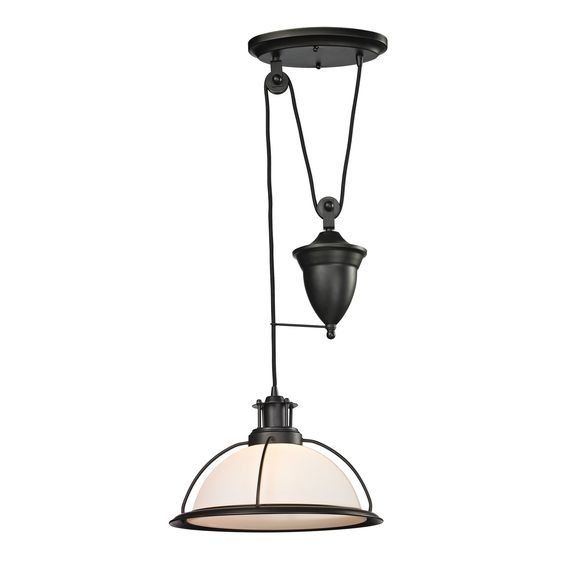 ELK Lighting 55045/1 Wilmington Collection Oil Rubbed Bronze Finish