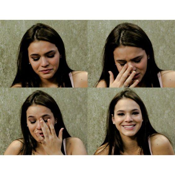 Meme quand elle pleure, elle est belle
