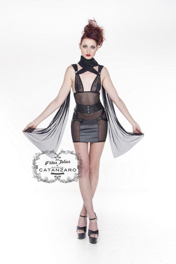 Robe sexy transparente Nerys Patrice Catanzaro