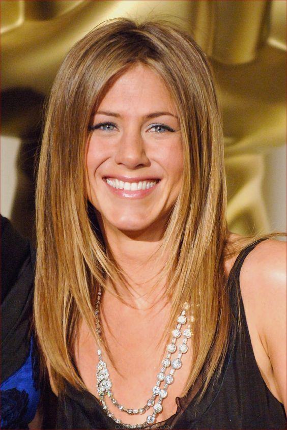 Peinado de Jennifer Aniston - 25 estilos de peinados de Jennifer Aniston |  #aniston #estilos #jennifer #peinado #peinados