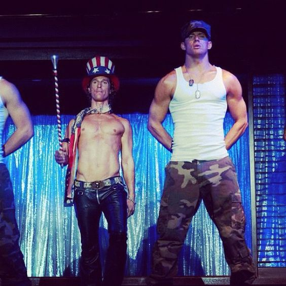 Magic Mike needs to hurry up!!