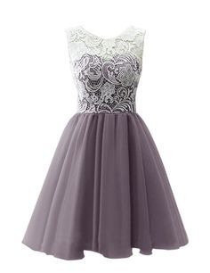 """RohmBridal Women's Short Lace Prom Homecoming Dress 
