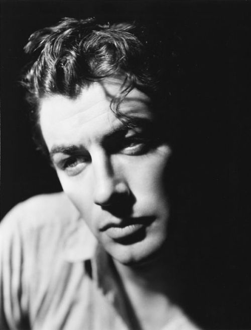 Robert Taylor. reminds me of my dad at the same age. However I do think my dad was better looking.