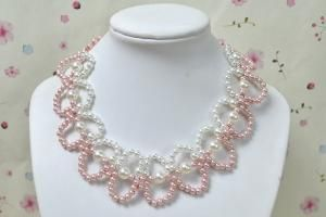 Pearl  necklace by Jersica