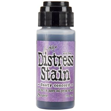 ranger distress stain dusty concord - Google Search