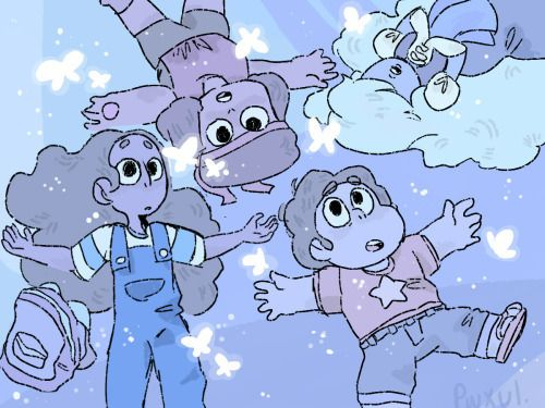 Connie, Steven, Ruby and Sapphire