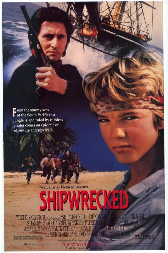 Not sure why I watched this, the first thing that came to hand on Netflix I guess, plus I love old nautical adventures, as a rule. Its over an hour of awkward sailor- bonding before the kid even gets shipwrecked. There's no way a kid this purty would last a day on the high seas.  Gabriel Byrne shows up and the film flickers to life for a few minutes. Then sputters out.