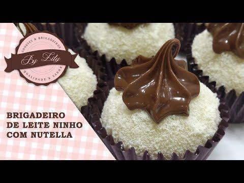Receita De Brigadeiro De Leite Ninho Com Nutella Aprenda Fazer Um