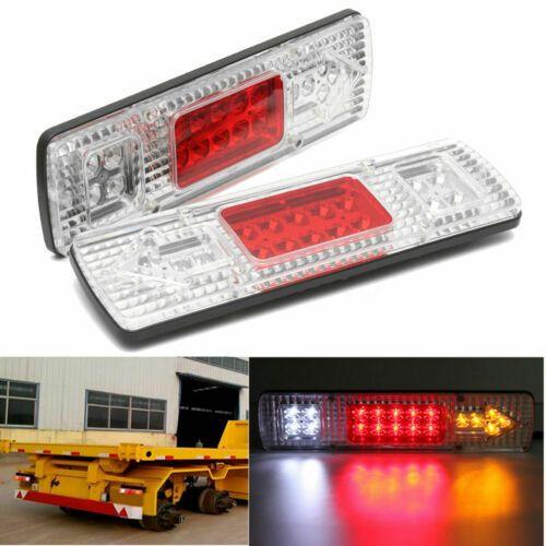 2x 12v 19 Led Trailer Car Truck Rear Tail Brake Stop Turn Light Indicator Lamp Ebay Cars Trucks Turn Light Led