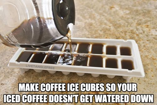 A life hack brewed to perfection. #LifeHacks #KitchenHacks #Coffee For the ultimate life hack check out > www.Zipbuds.com