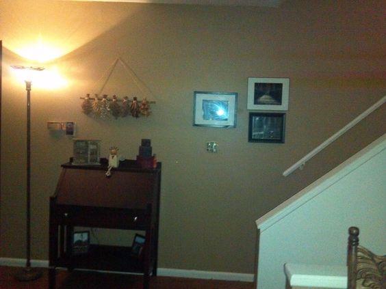 New Paint In Living Room Glidden S Warm Caramel My