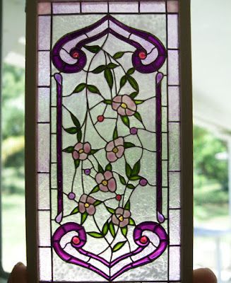 Good Sam Showcase of Miniatures (stained glass window panel)