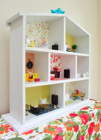 How to build a dollhouse part 2 decorating it a house for How to make your own dollhouse