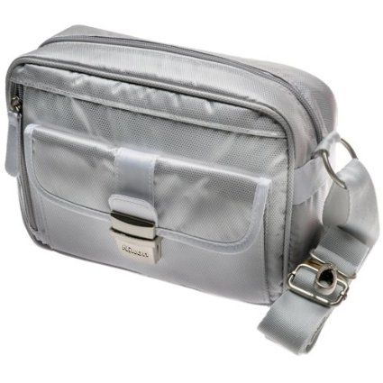 Nikon 1 Series Deluxe Digital Camera Case (Gray) for J1, J2, J3, S1, V1, V2, AW1