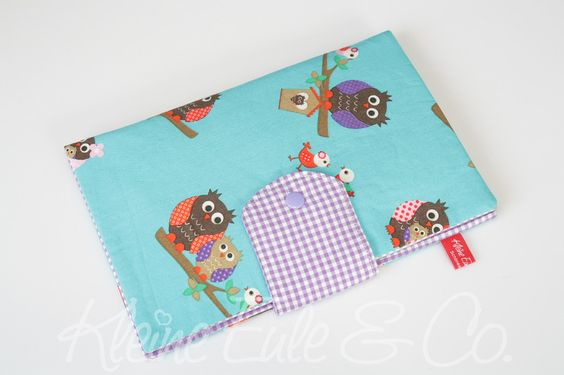 Windeltasche / Pamperstasche von Kleine Eule & Co. auf DaWanda.com