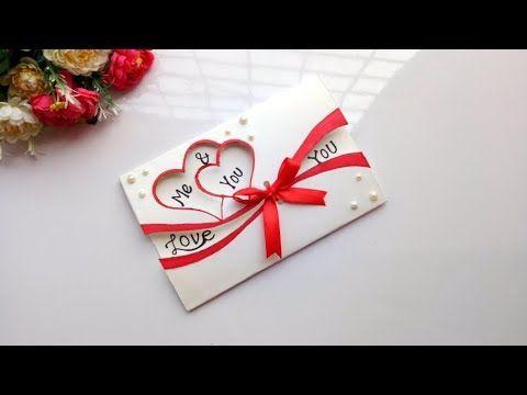 Beautiful Handmade Valentine S Day Card Idea Diy Greeting Cards