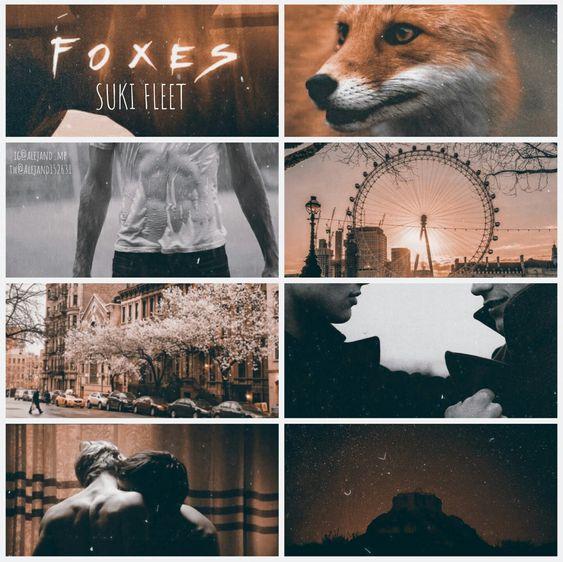 Foxes by Suki Fleet. Edit by ig@alejand_mp tw@Alejand152631. Mi rinconín de lectura blogspot.