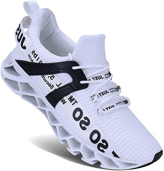 Amazon.com | UMYOGO Mens Athletic Walking Blade Running Tennis Shoes  Fashion Sneakers (13 M US, 1… | Fashion tennis shoes, Casual athletic  shoes, Mens fashion shoes