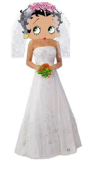 betty boop con vestido de novia - betty boop - hello foros - chismes