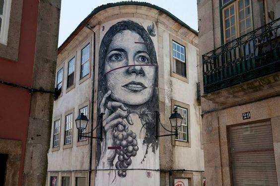 Frederico Draw 2015 - 'Tons de Primavera' Street Art Festival - Viseu, PT