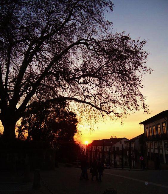 Guimarães sunset