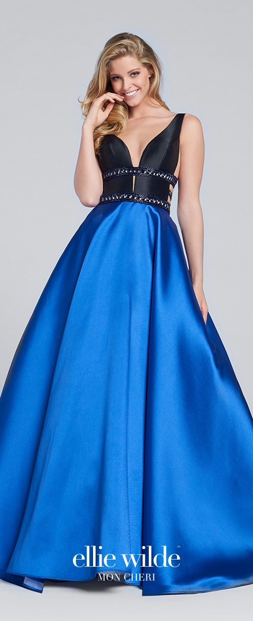 Mikado Full A-line Prom Gown with Pockets - EW117144 - Pinterest ...