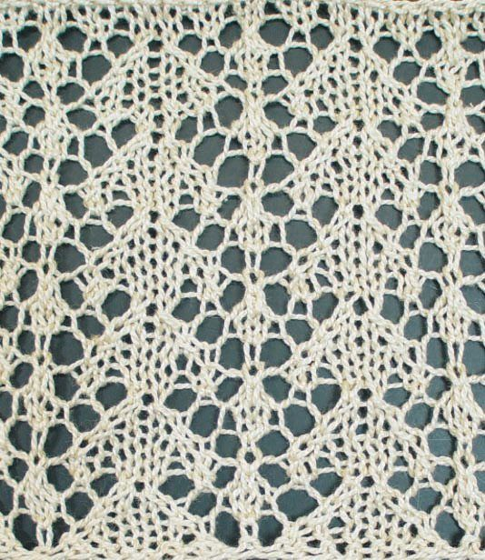 Heirloom Knitting - Knitting Daily - Blogs - Knitting Daily - easy lace pattern