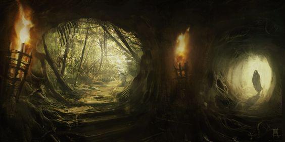 Caves 2015, Jonathan M Betts on ArtStation at https://www.artstation.com/artwork/caves-2015