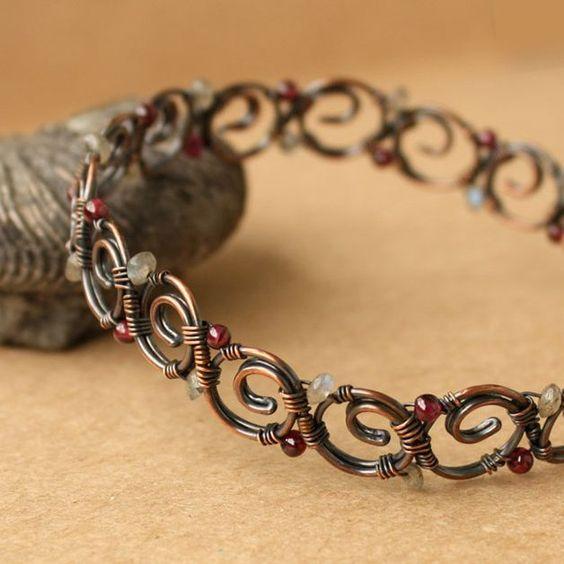 Making A Copper Cuff Bracelet