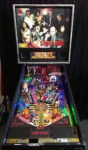 Sopranos Pinball Machine Free Ship Stern Pinball   eBay....would love one in my place!!!!