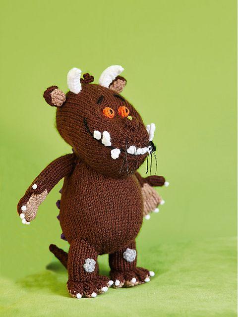 Its A Gruffalo! pattern by Louise Watling Knitting ...