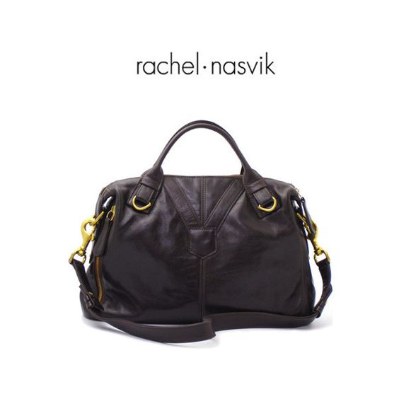Rachel Nasvik — Phoebe Satchel in Black