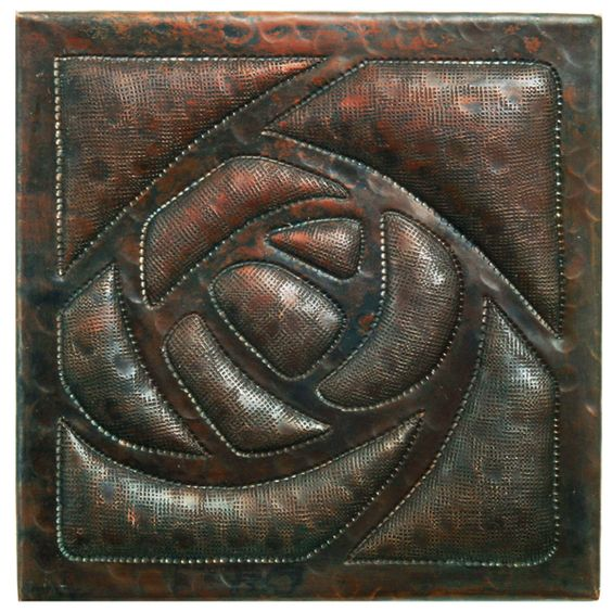 Www.coppersinksdirect.com   Copper Tile (TL338) Arts