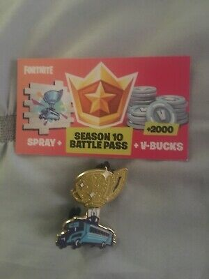 Fortnite World Cup Exclusive Spray And Attendee Pin
