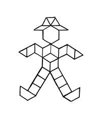 Scarecrow activities: FREE scarecrow pattern blocks worksheet ...